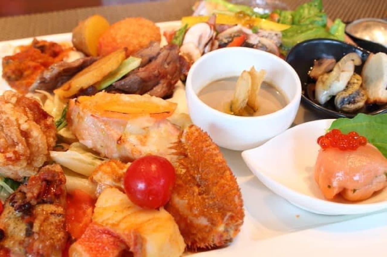 ホテルビュッフェで「北海道フェア」--シェフがオススメする食材は?