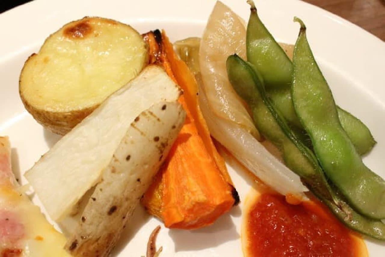 ほかの野菜も美味
