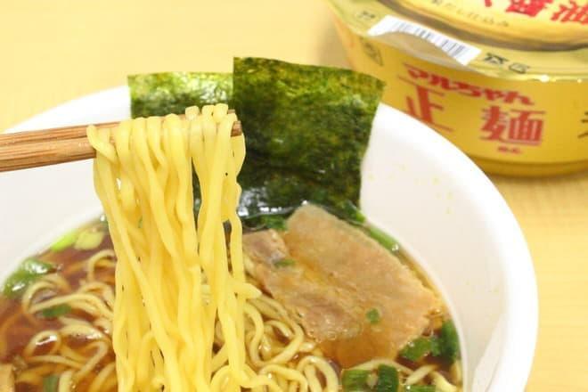 あの「マルちゃん正麺」がカップ麺になった!