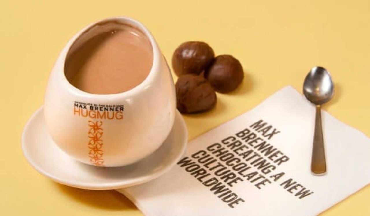 マロンホットチョコレート
