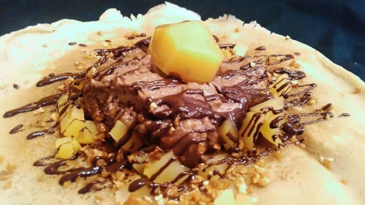 チョコ×栗のあったかパンケーキがMAMANOに