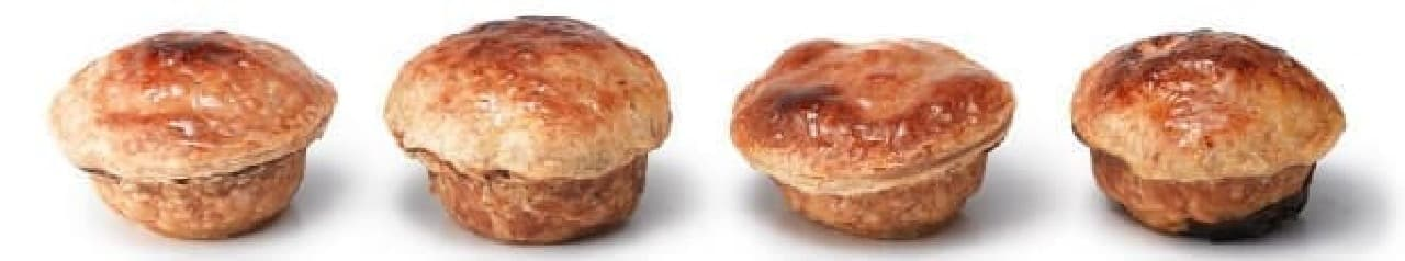 風味豊かなパイたち