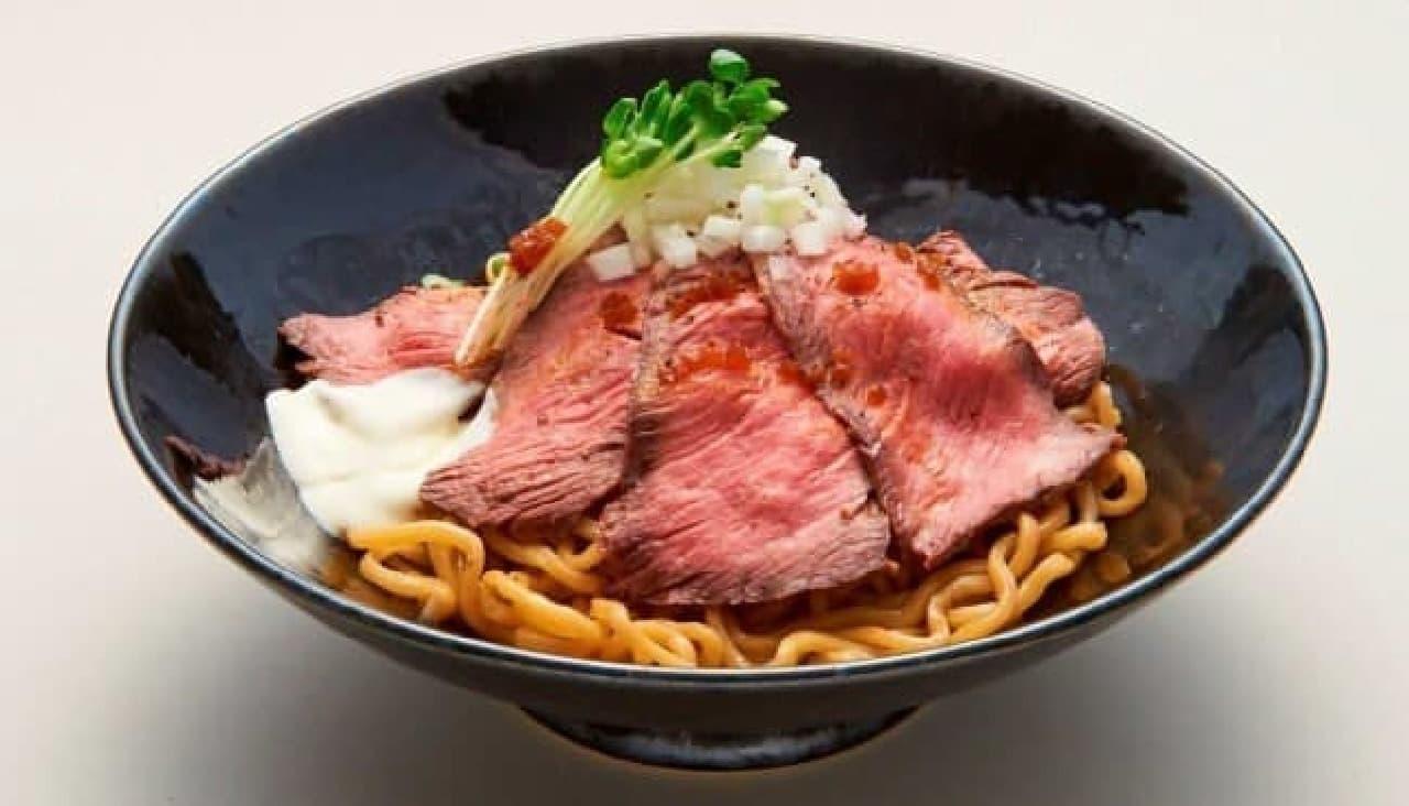 「ローストビーフ油そば」専門店がオープン!