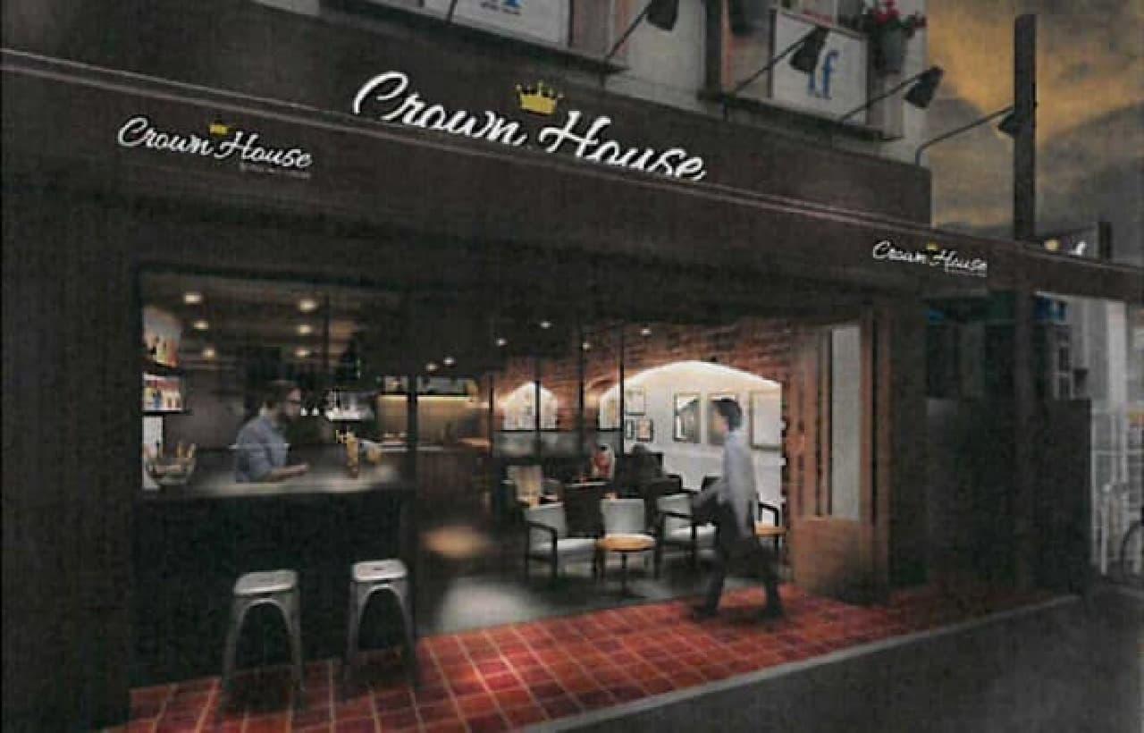 吉祥寺に「Crown House(クラウンハウス)」オープン