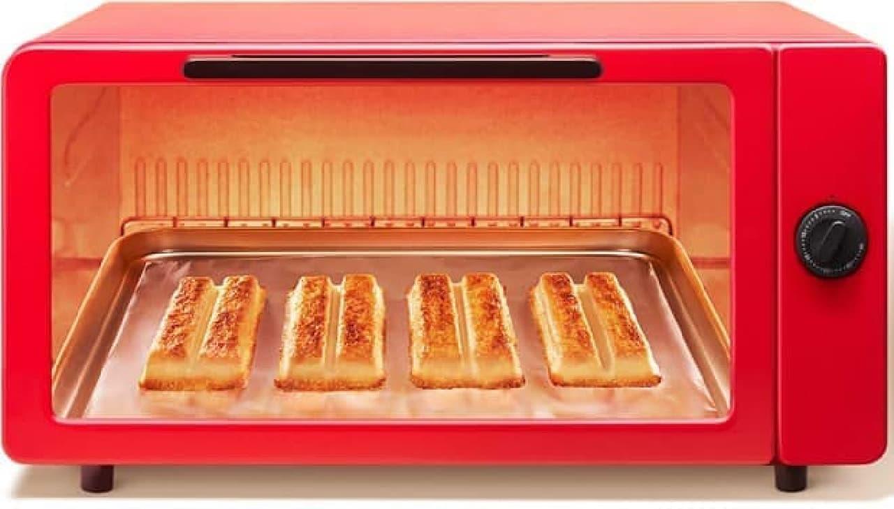 """トースターで焼くと""""新食感""""が楽しめる!  (画像出典:キットカット公式サイト)"""