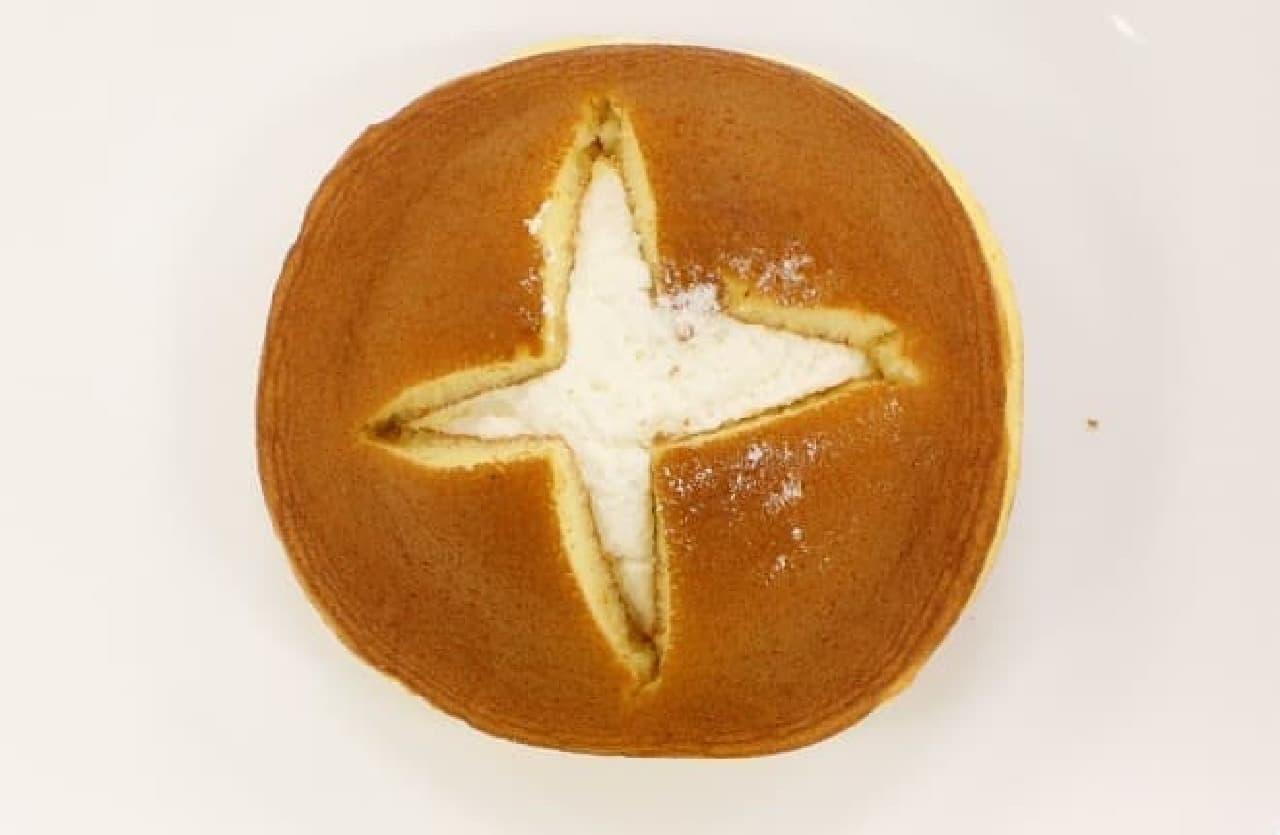 ファミマの「切れてるパンケーキ」