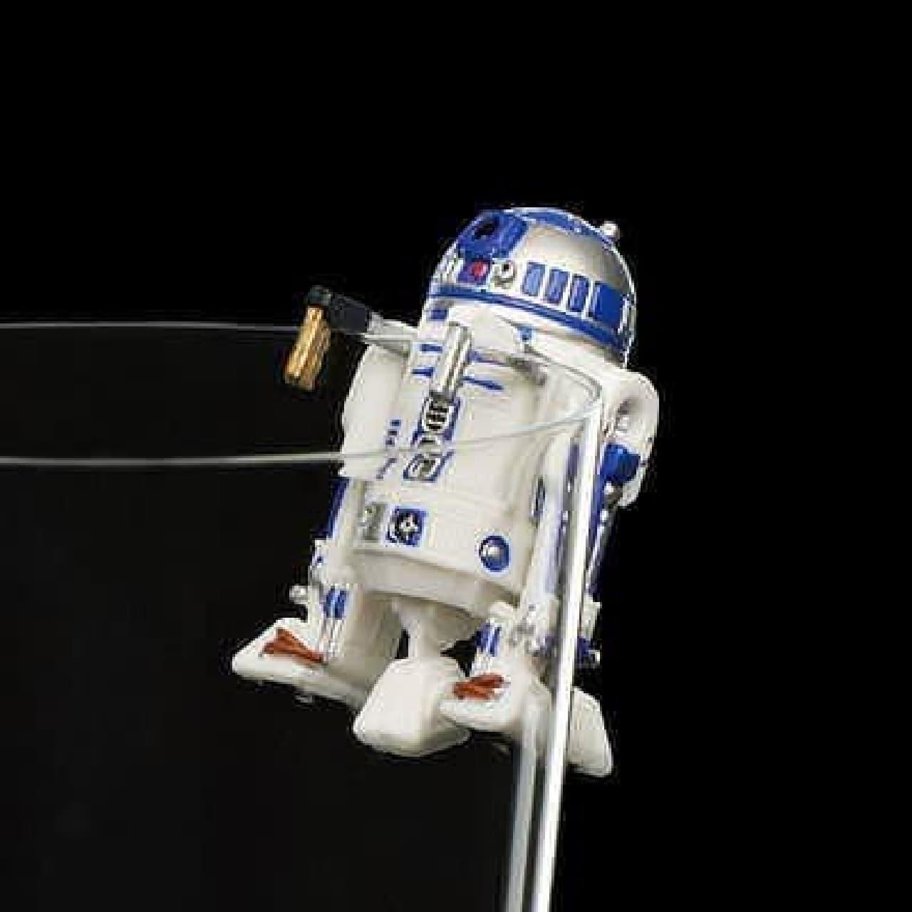 コップのフチに、スター・ウォーズ!  (C)& TM Lucasfilm Ltd.