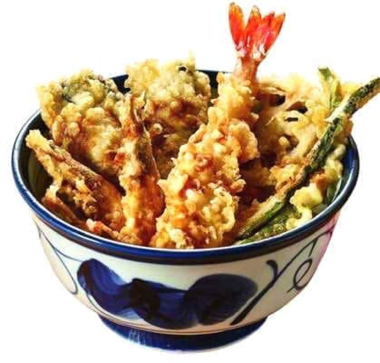 旬の牡蠣&芝海老天丼が登場!