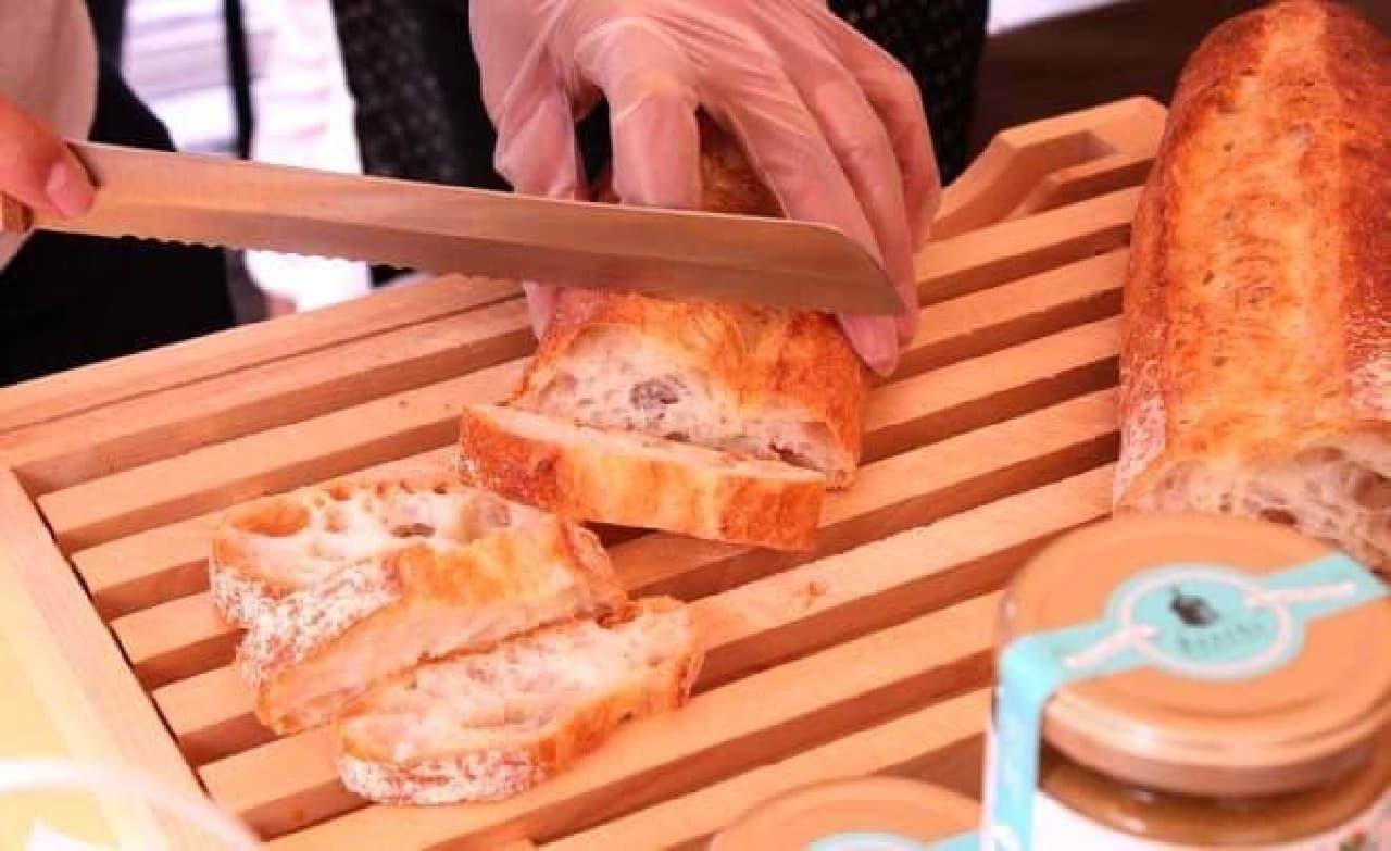新麦をおいしいパンにするのは技術がいる
