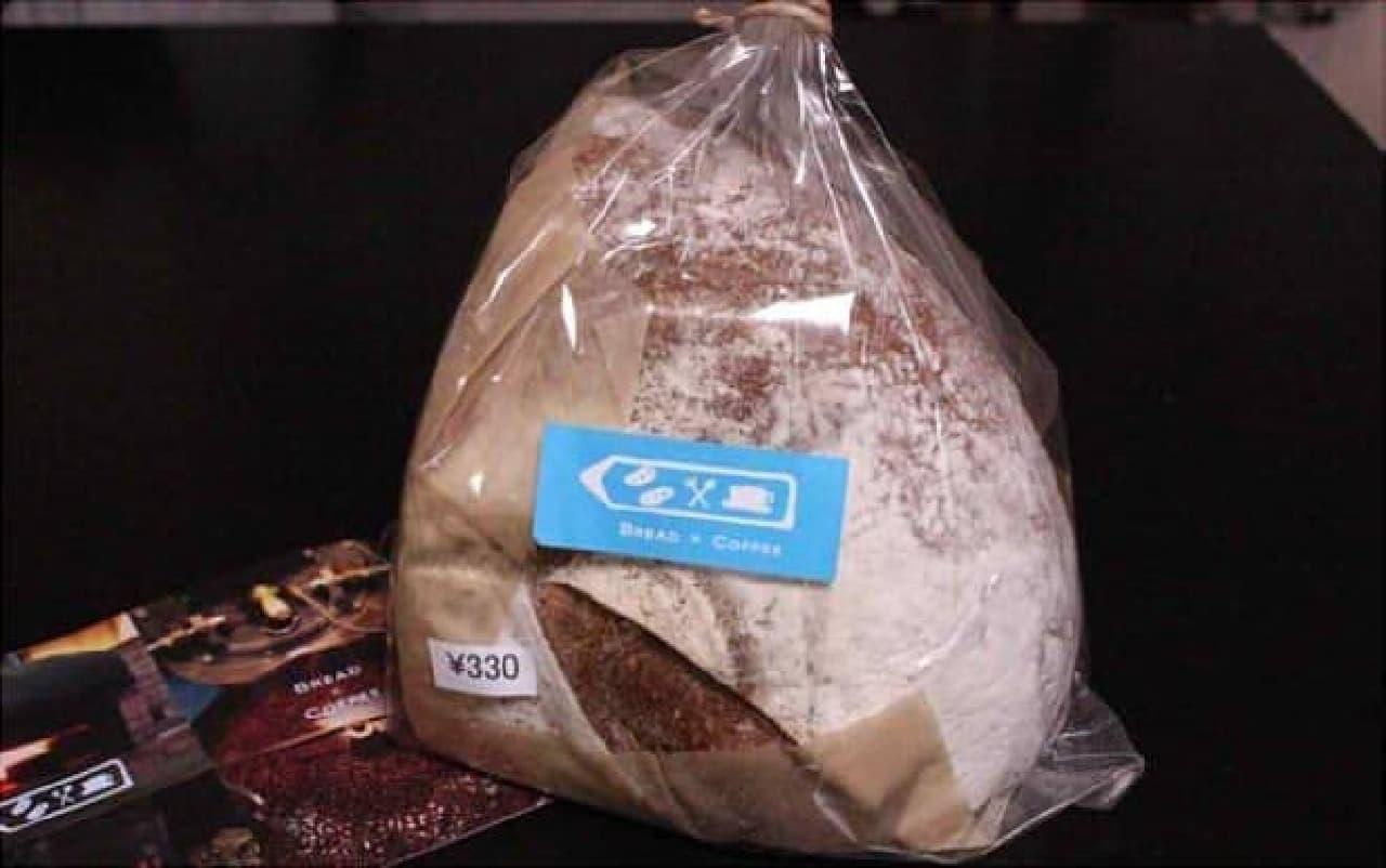 新麦配合のライ麦パン