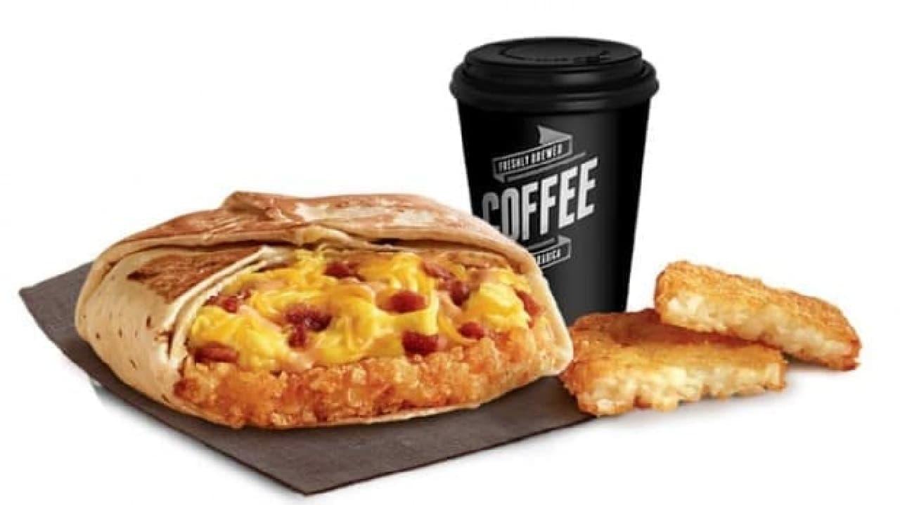 近隣のビジネスマンに向けて朝食を用意