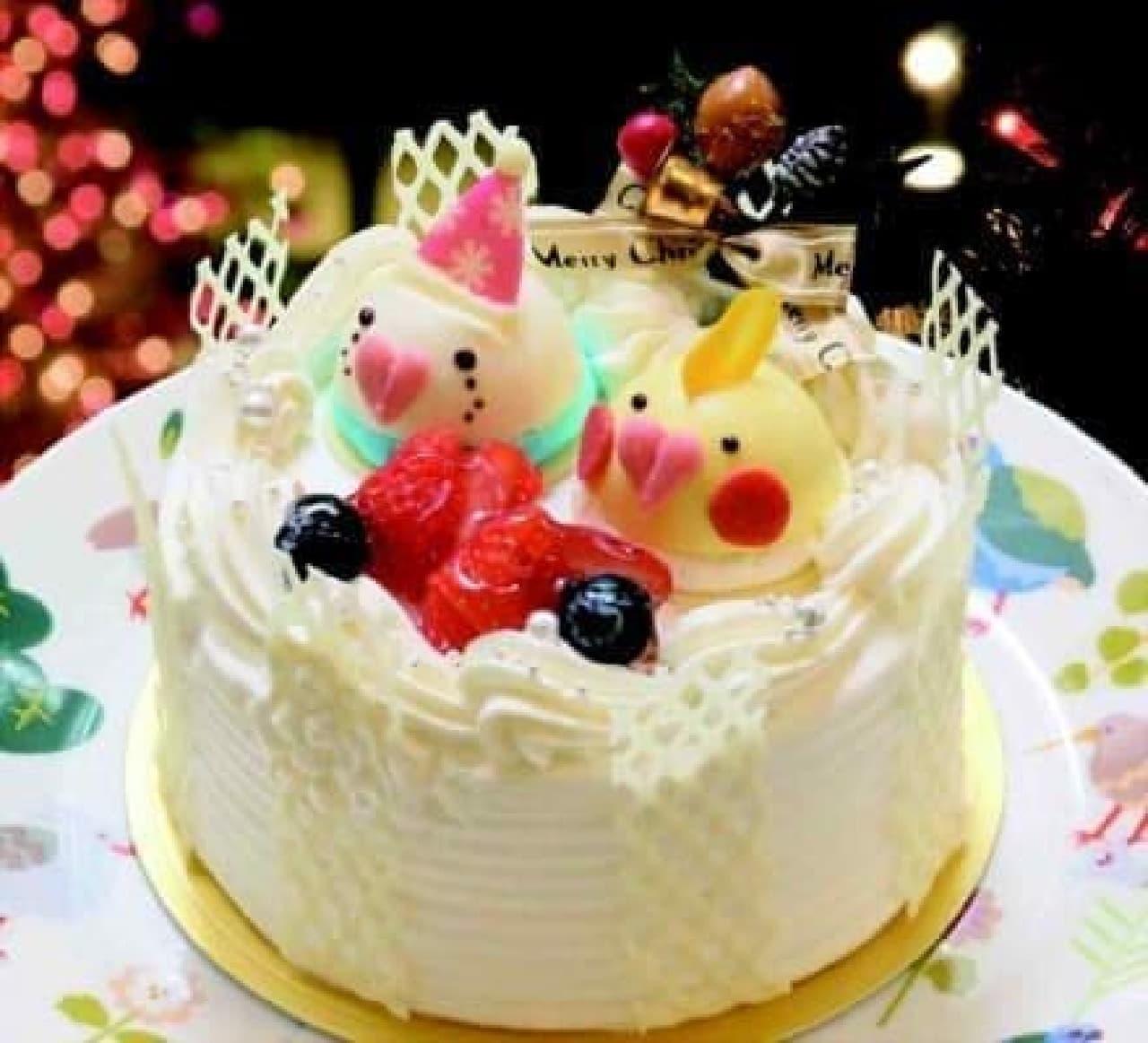 ことりカフェのクリスマスケーキ予約開始!