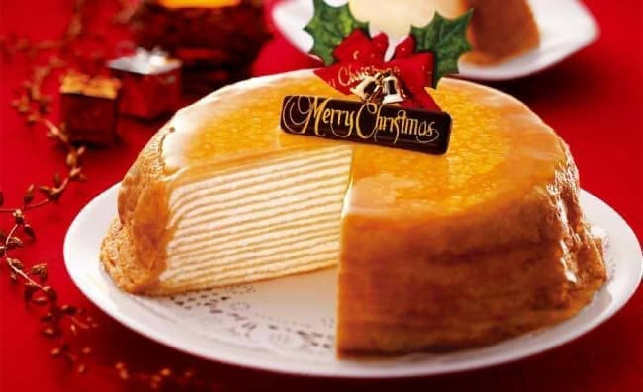 「クリスマス・ミルクレープ」予約開始!