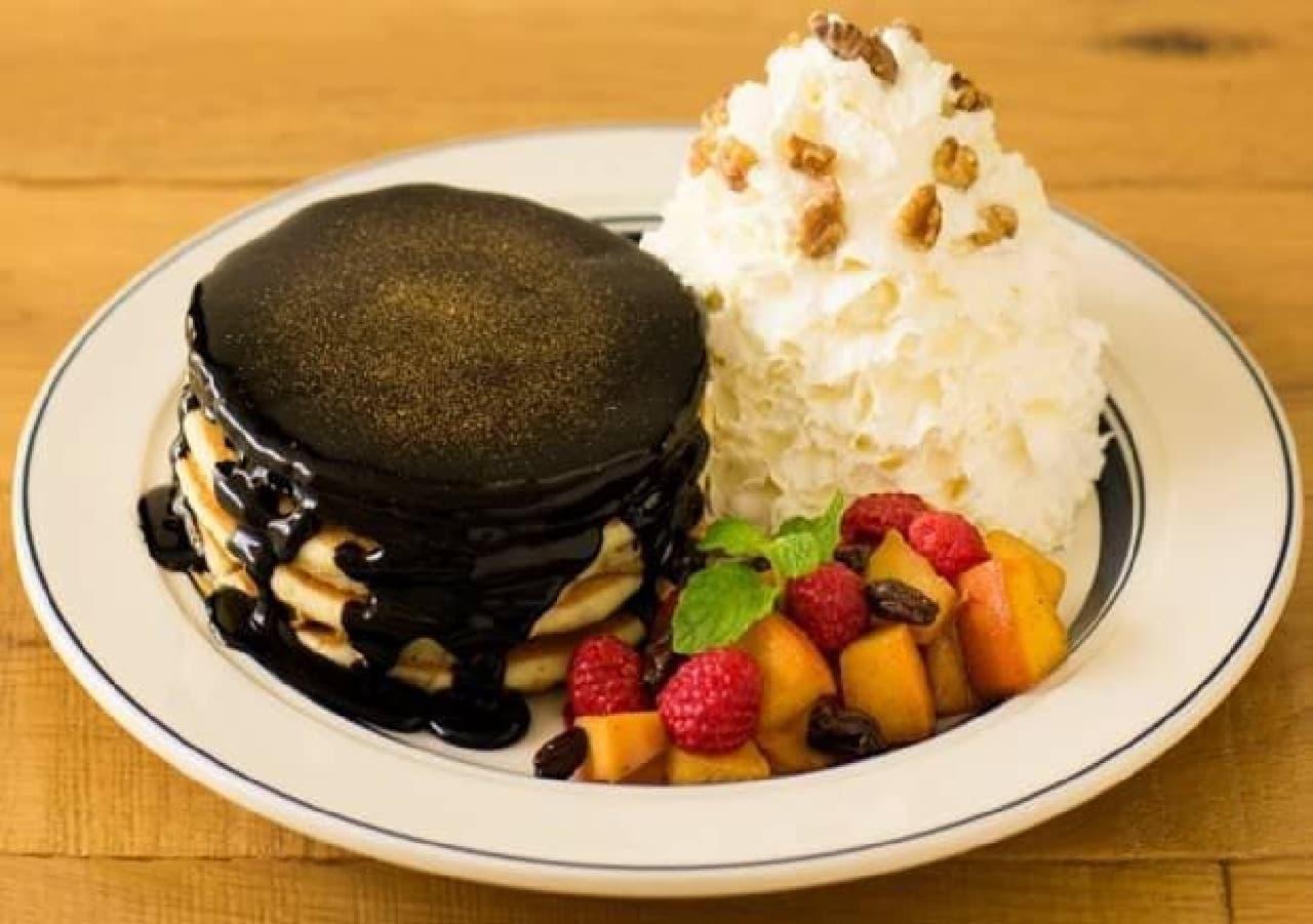 高級チョコレート菓子みたいなパンケーキ!