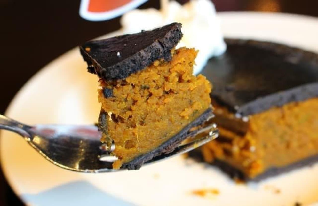 ここまでスパイスの効いたかぼちゃスイーツは久しぶり!