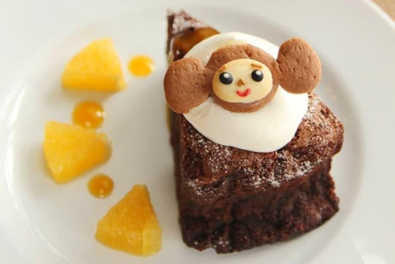 チェブラーシカがケーキに…!