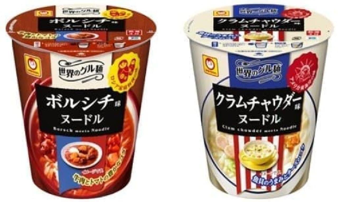 """寒い季節にぴったり!ほかほか温まる""""スープ系""""カップ麺"""