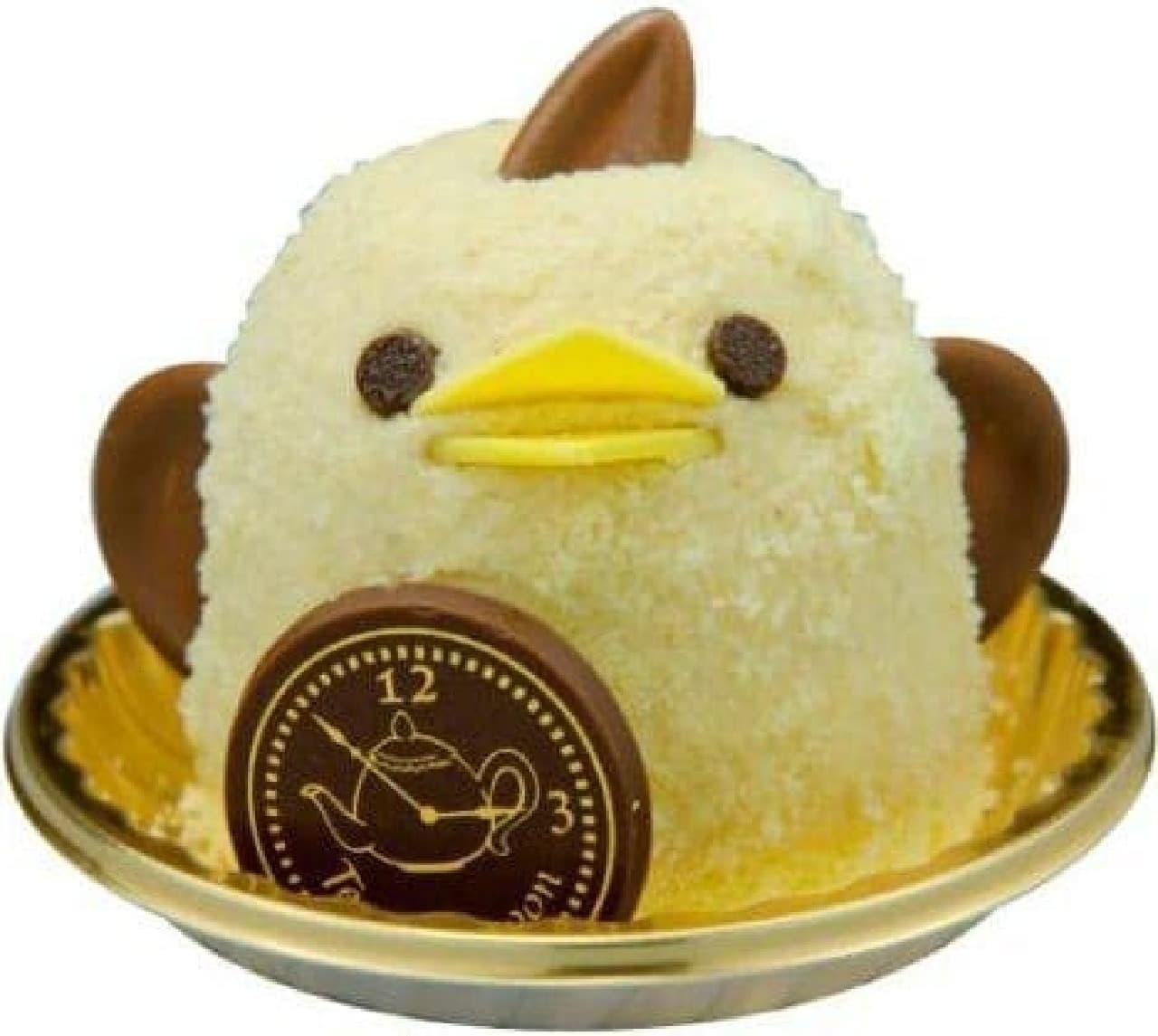 """ぴよりんが、今だけ""""紅茶フレーバー""""に!"""