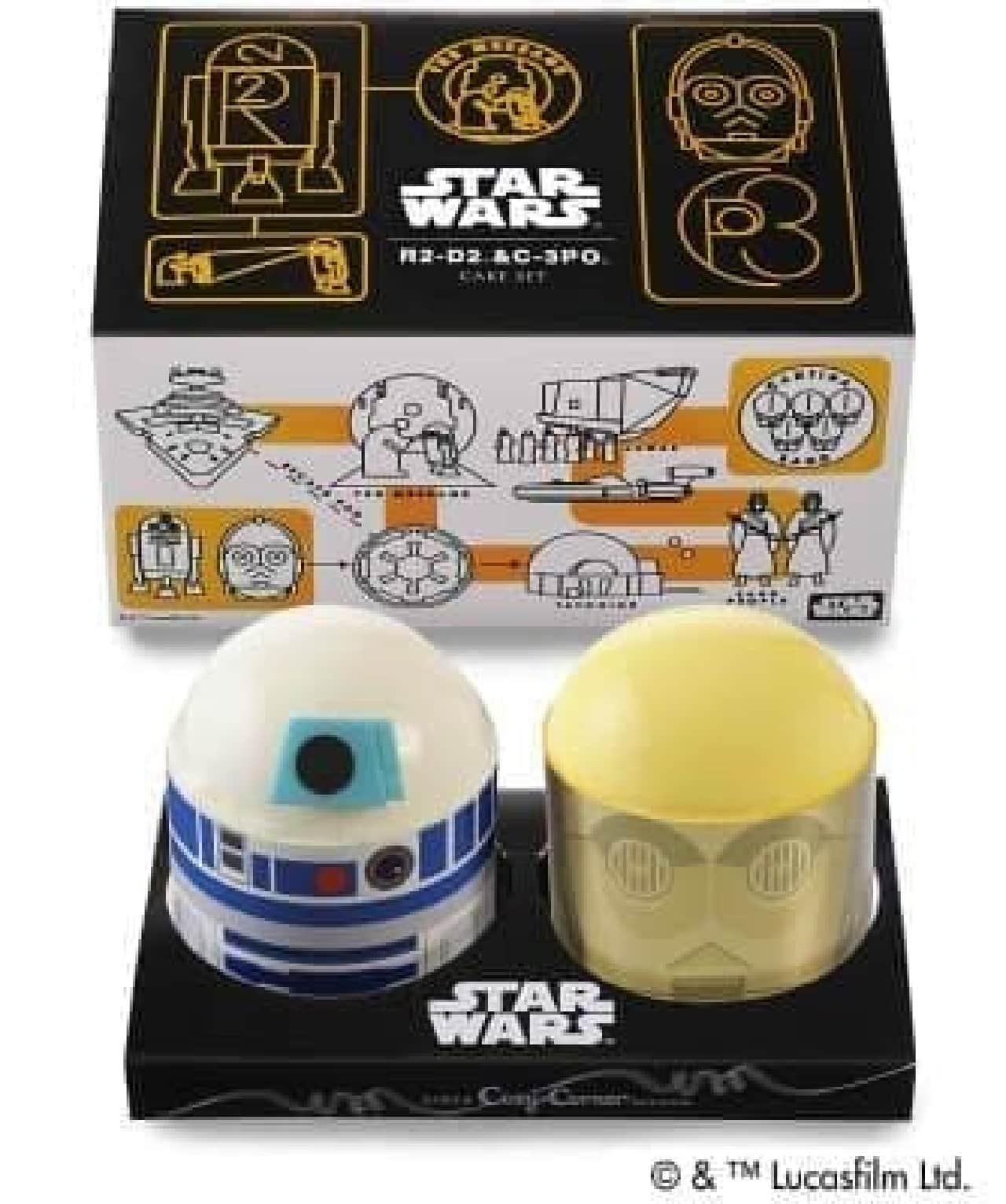 「R2-D2&C-3POケーキセット」