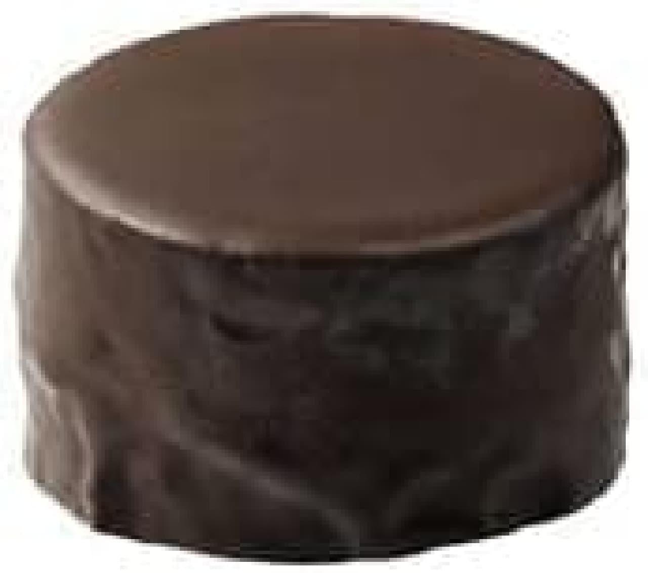 チョコの濃厚な味わい