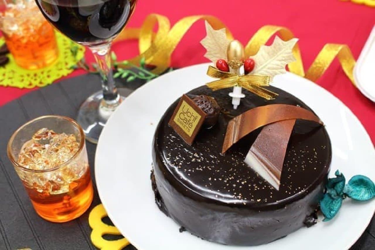 カカオ香るスペシャルチョコレートケーキ