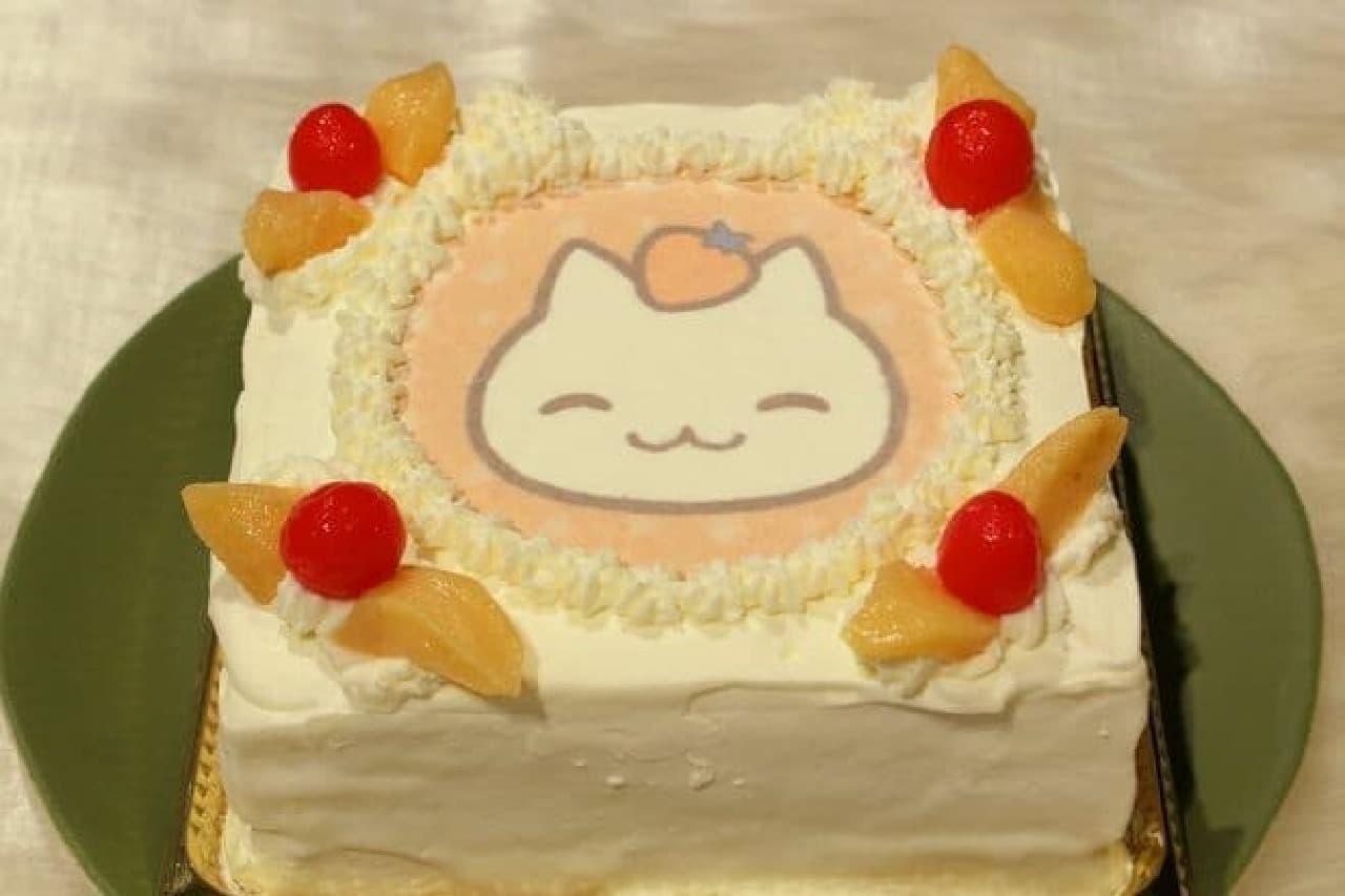 """人気アプリの""""にゃんこ""""がクリスマスケーキに"""