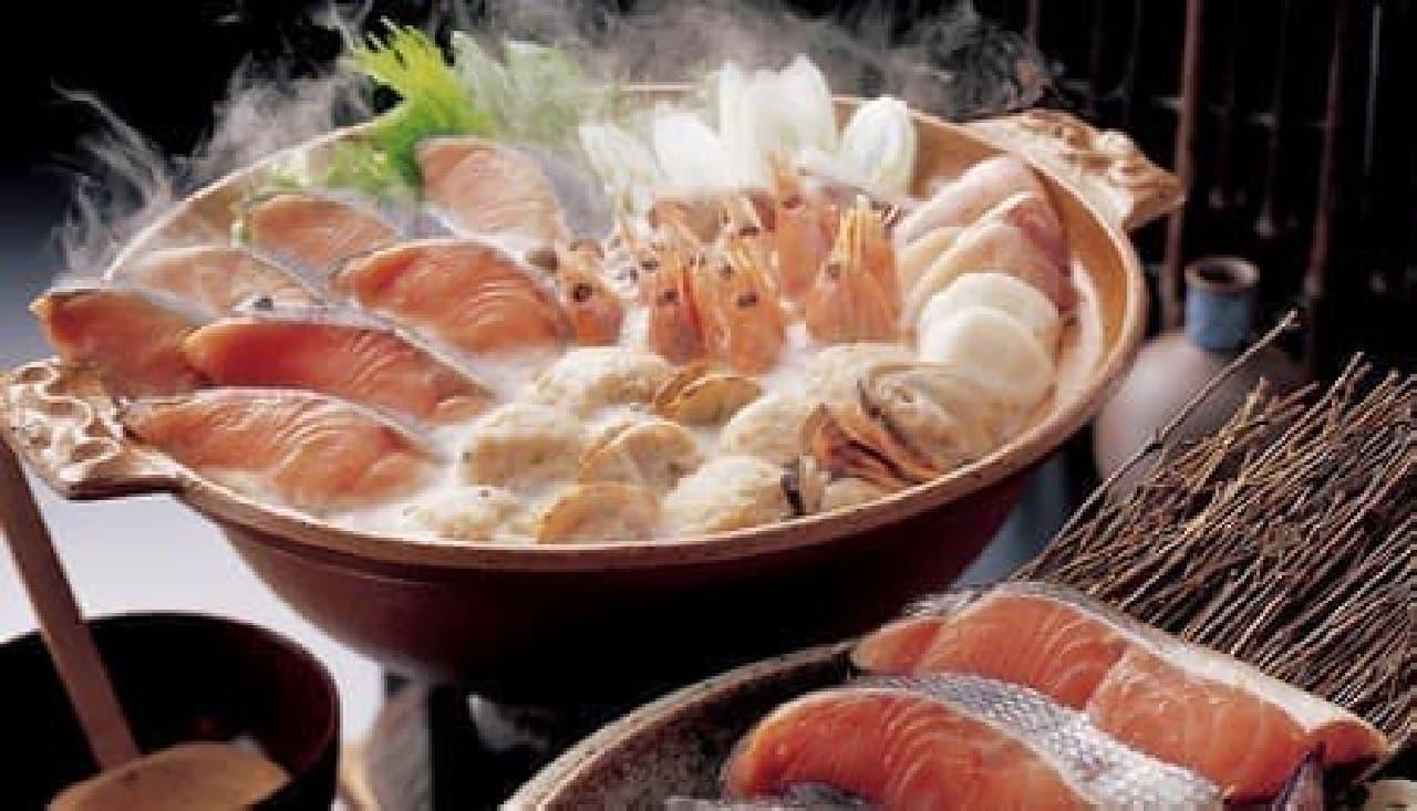 北海道「石狩鍋」などが登場