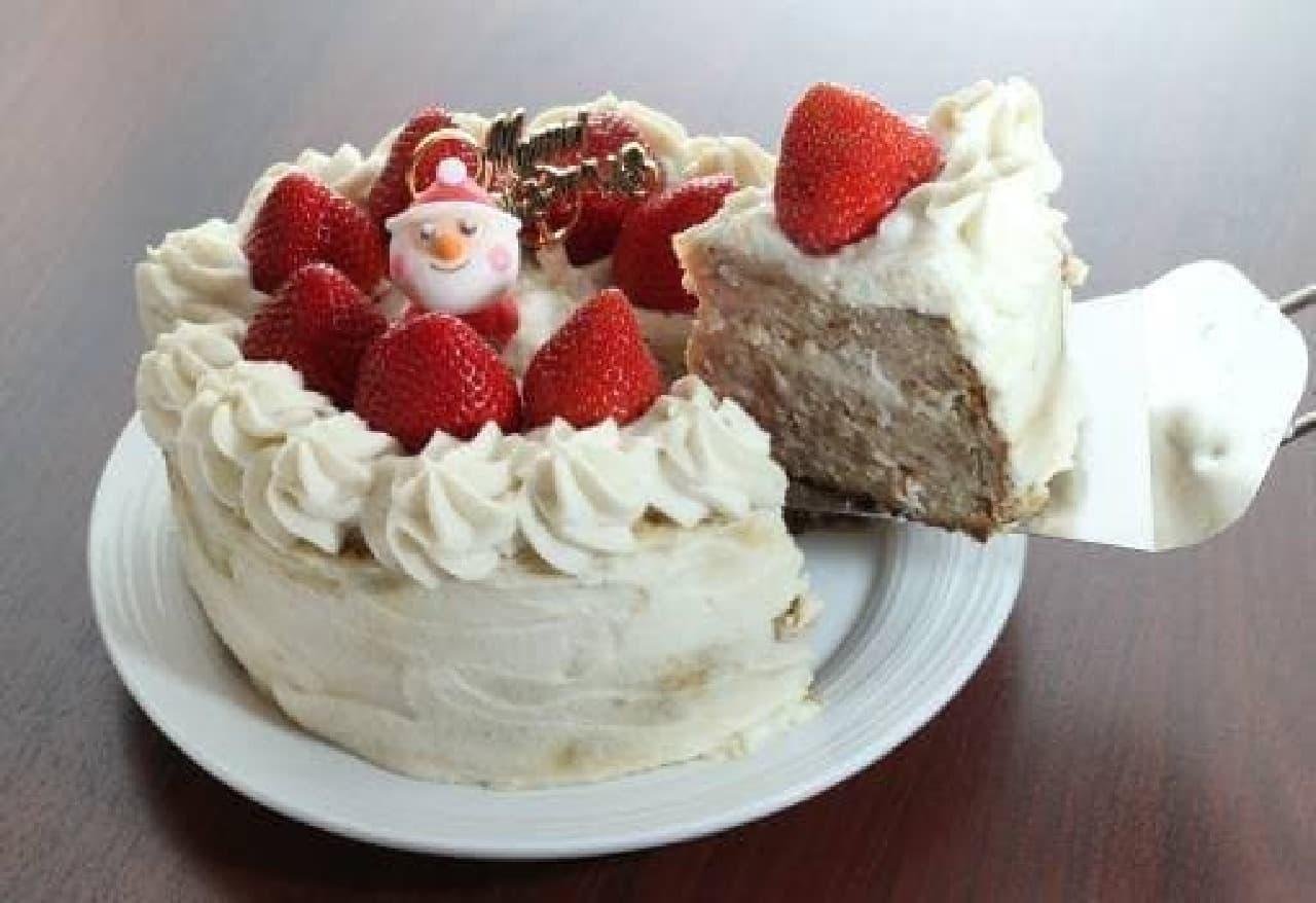 ケーキとやきとりのハイブリッド?