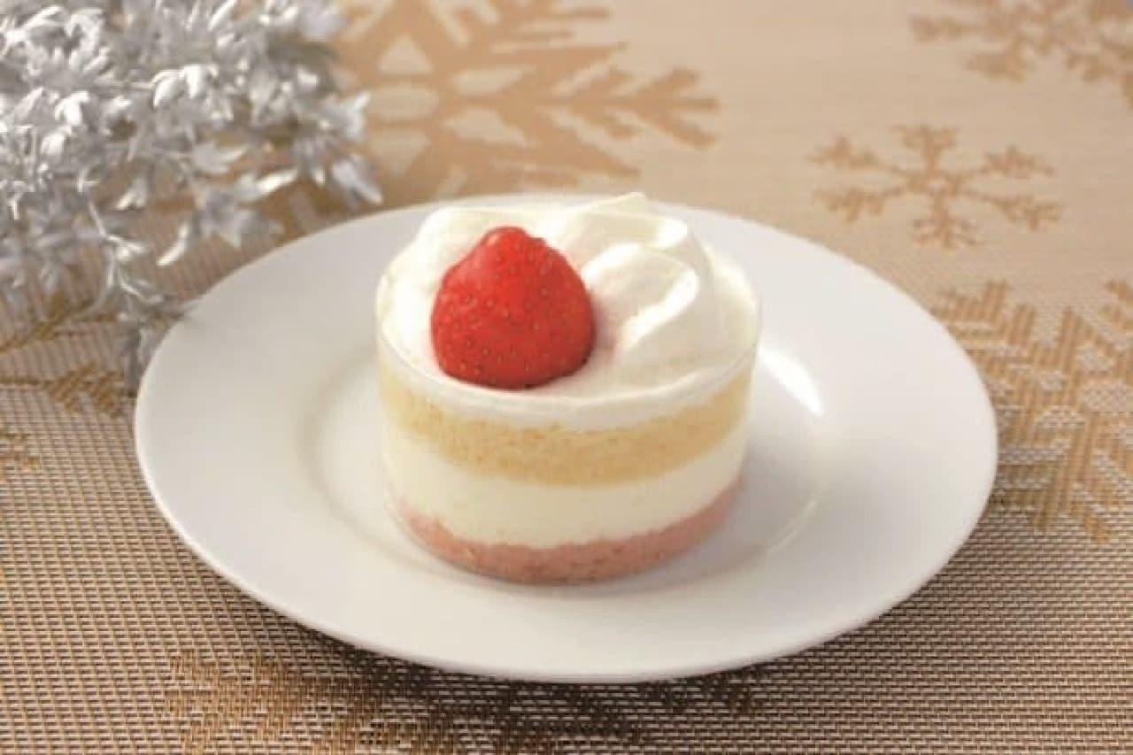 """ローソンから""""本気で美味しい""""ケーキが登場(画像は「苺のショートケーキ」)"""