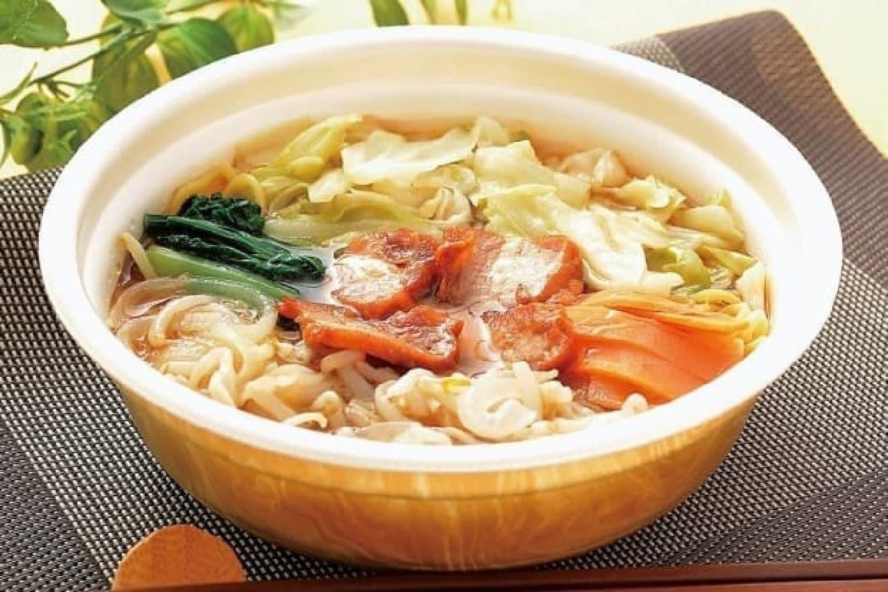 たっぷり野菜麺~醤油味~