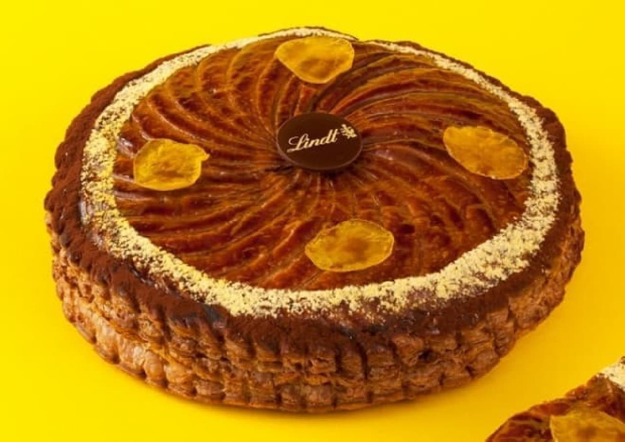 新年のお菓子「ガレット・デ・ロワ」