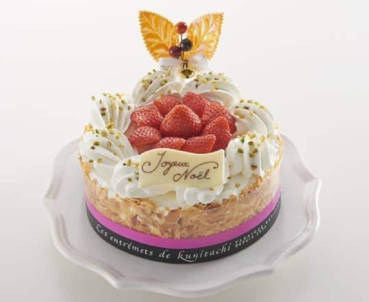 人気パティシエ監修ケーキが、今年も登場!  (画像:ミルフィーユ・シャンティ)