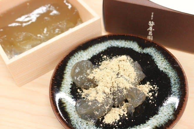 京菓子 笹屋昌園の「本わらび餅 極み」はこれまで食べたことのない極上の食感