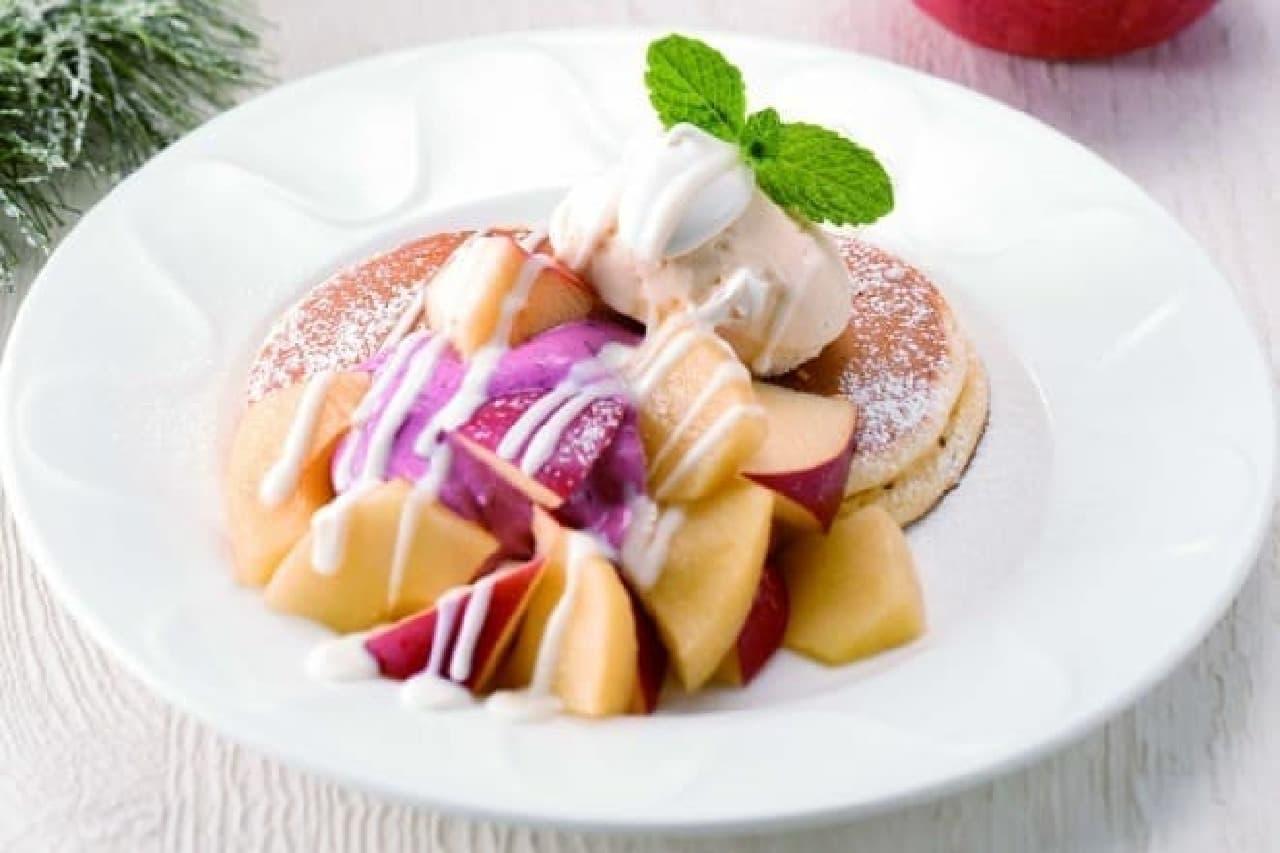 「林檎のパンケーキ」など5品が登場!