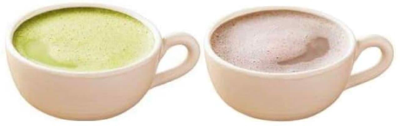 抹茶ラテ&ホットココアも!  (画像はイメージ)