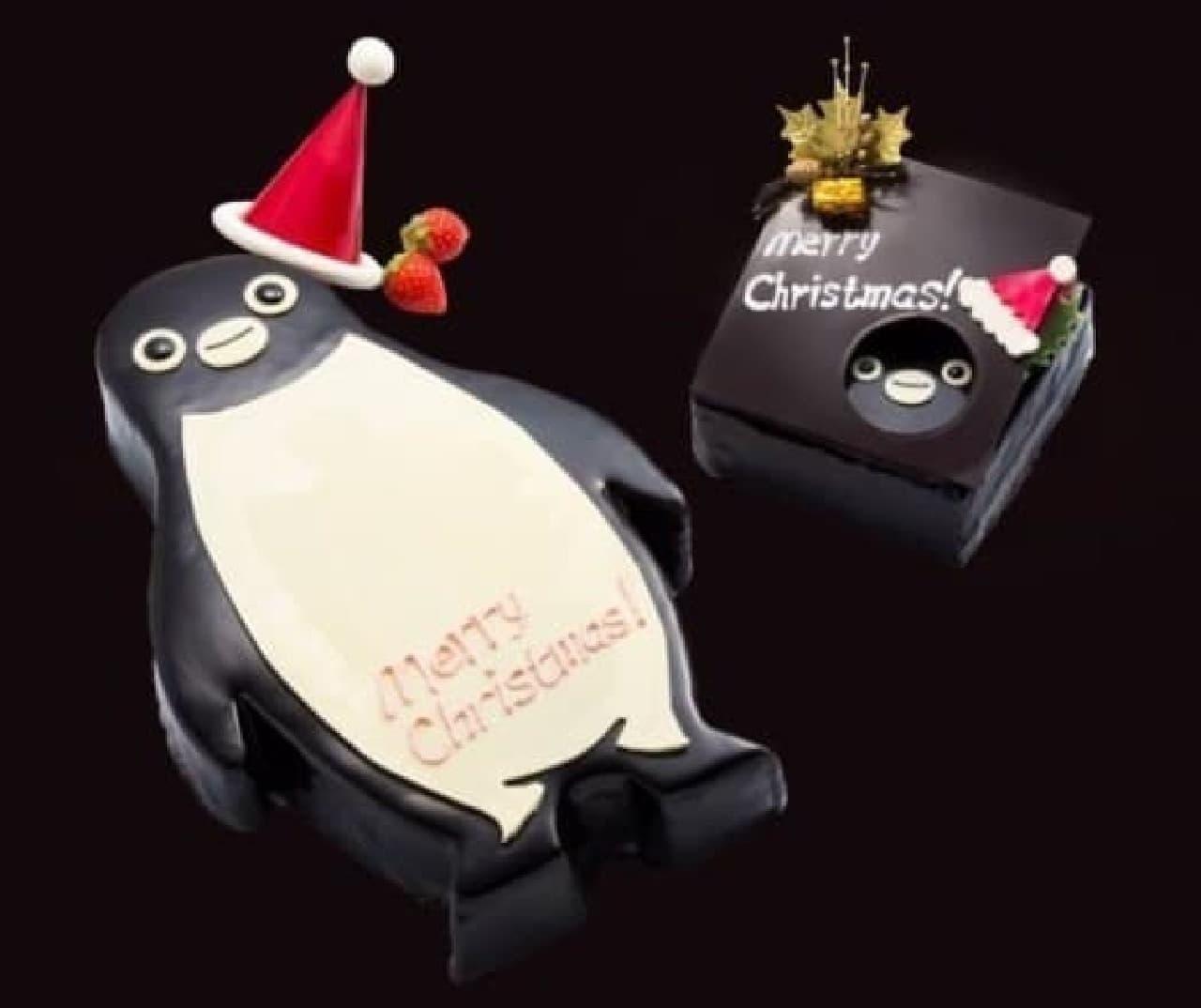 キュートなSuicaのペンギンケーキとクリスマスを過ごしませんか? (c)C.S/JR 東日本/D