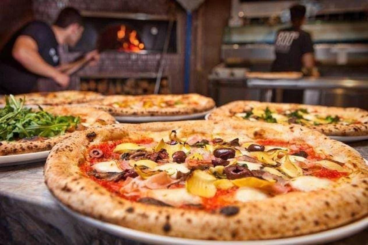 人気ピザレストランがアメリカから日本へ