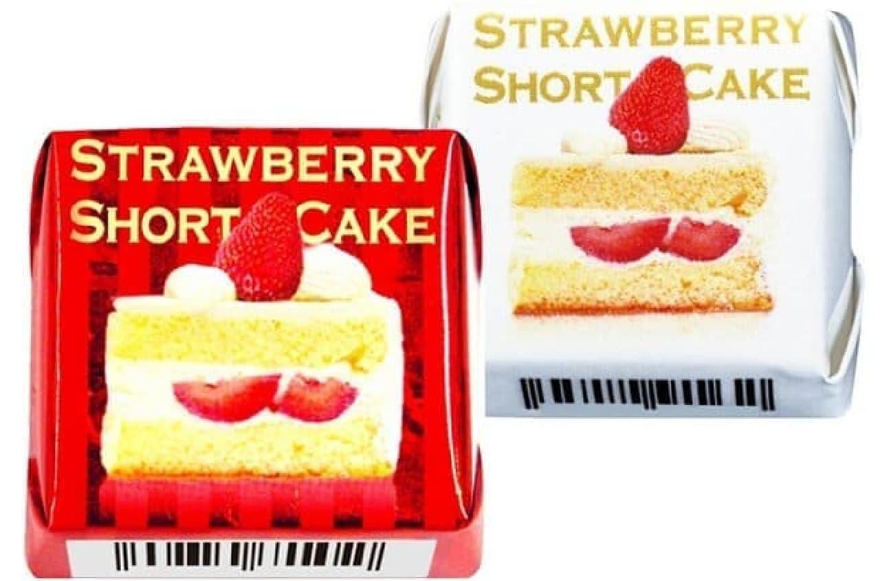 チロルチョコ「ストロベリーショートケーキ」