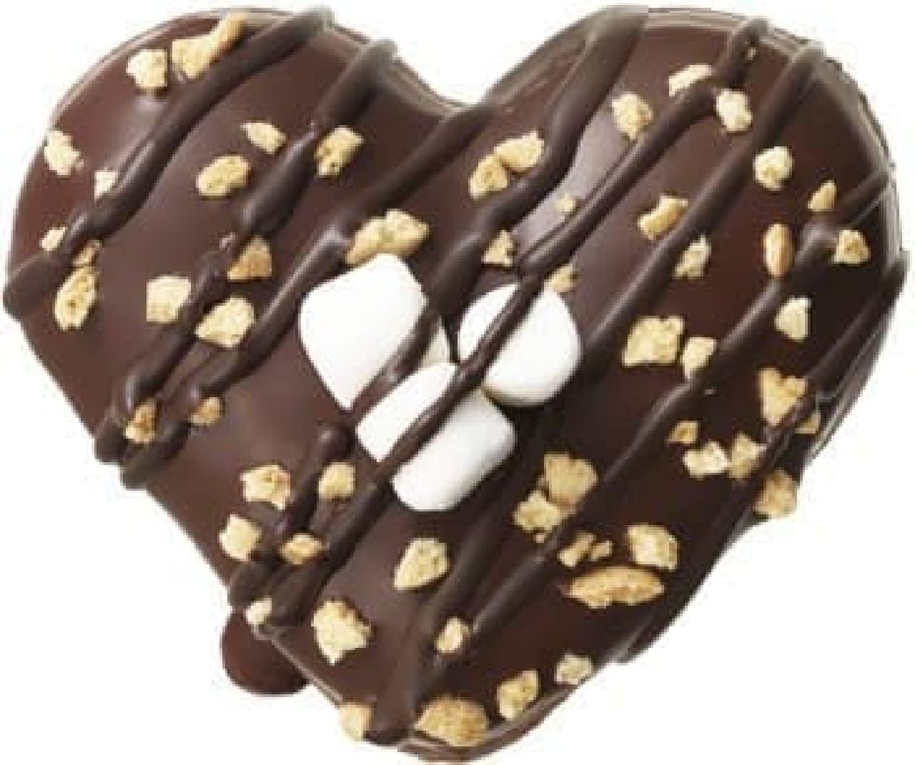 チョコとマシュマロがダブルでとろける!
