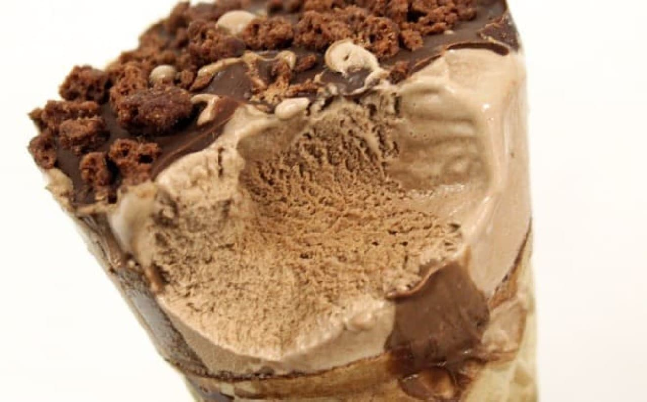 すっきりとキレのあるチョコレート味
