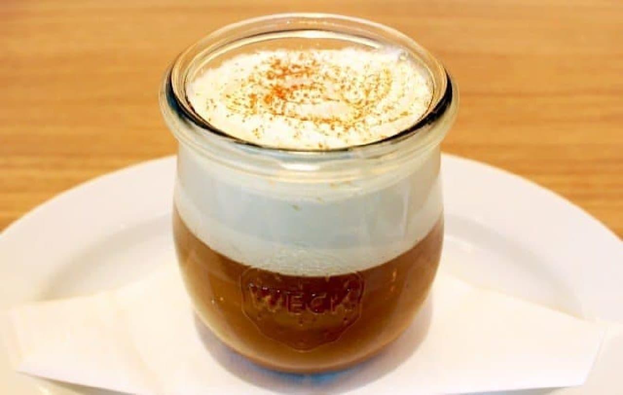 猿田彦珈琲のコーヒーを使った「コーヒープディング」