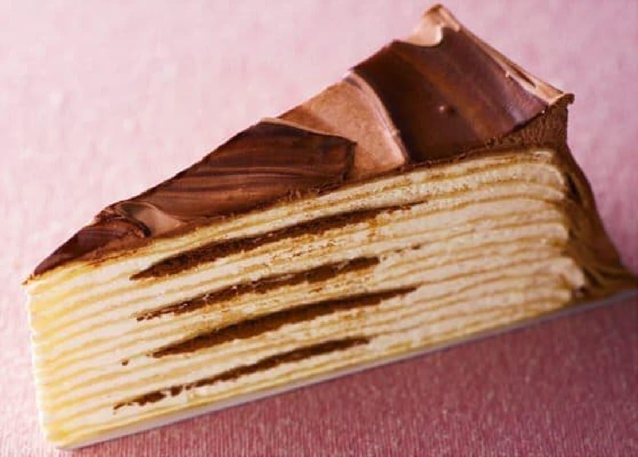 「ショコラミルクレープ」