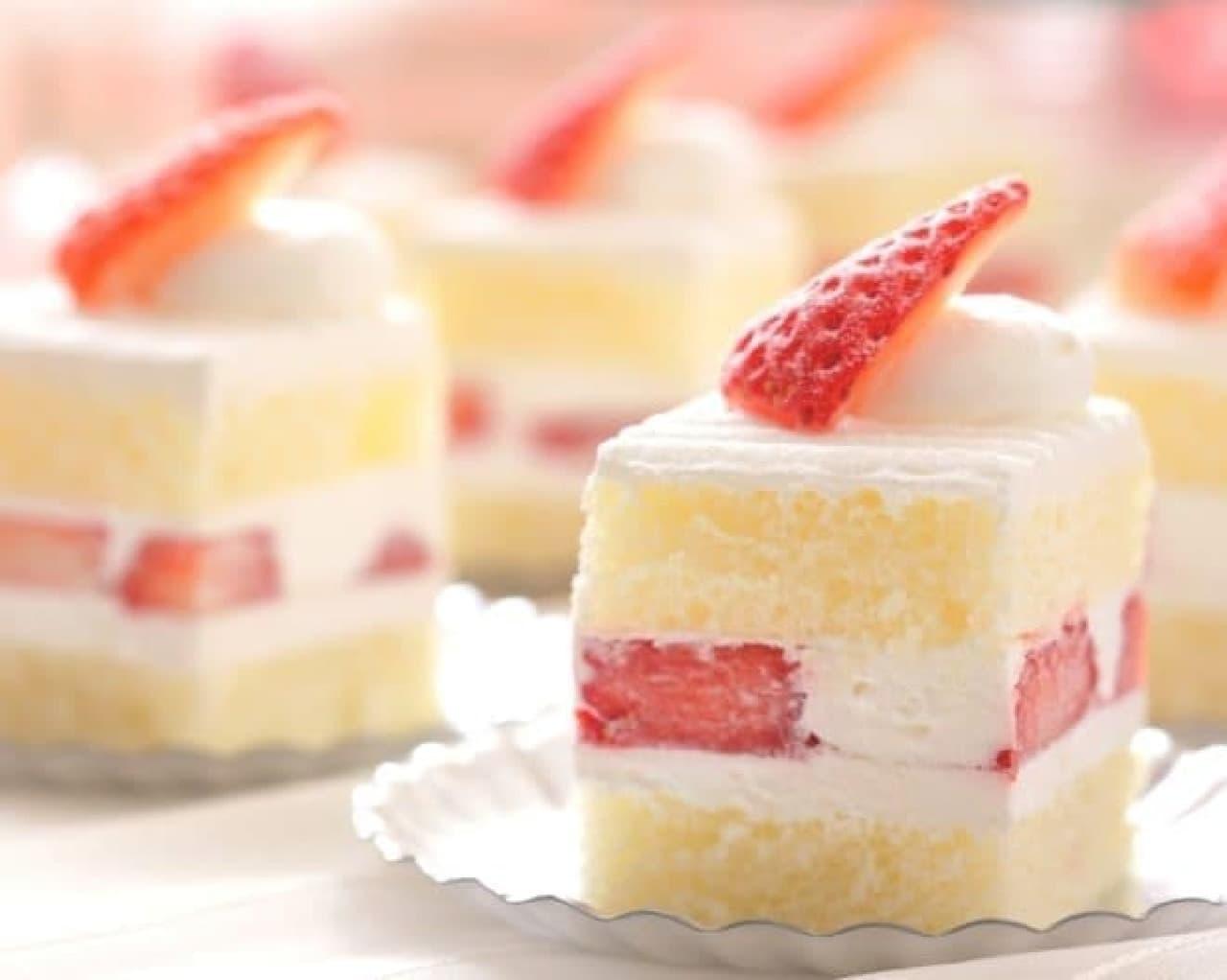 王道のショートケーキや、