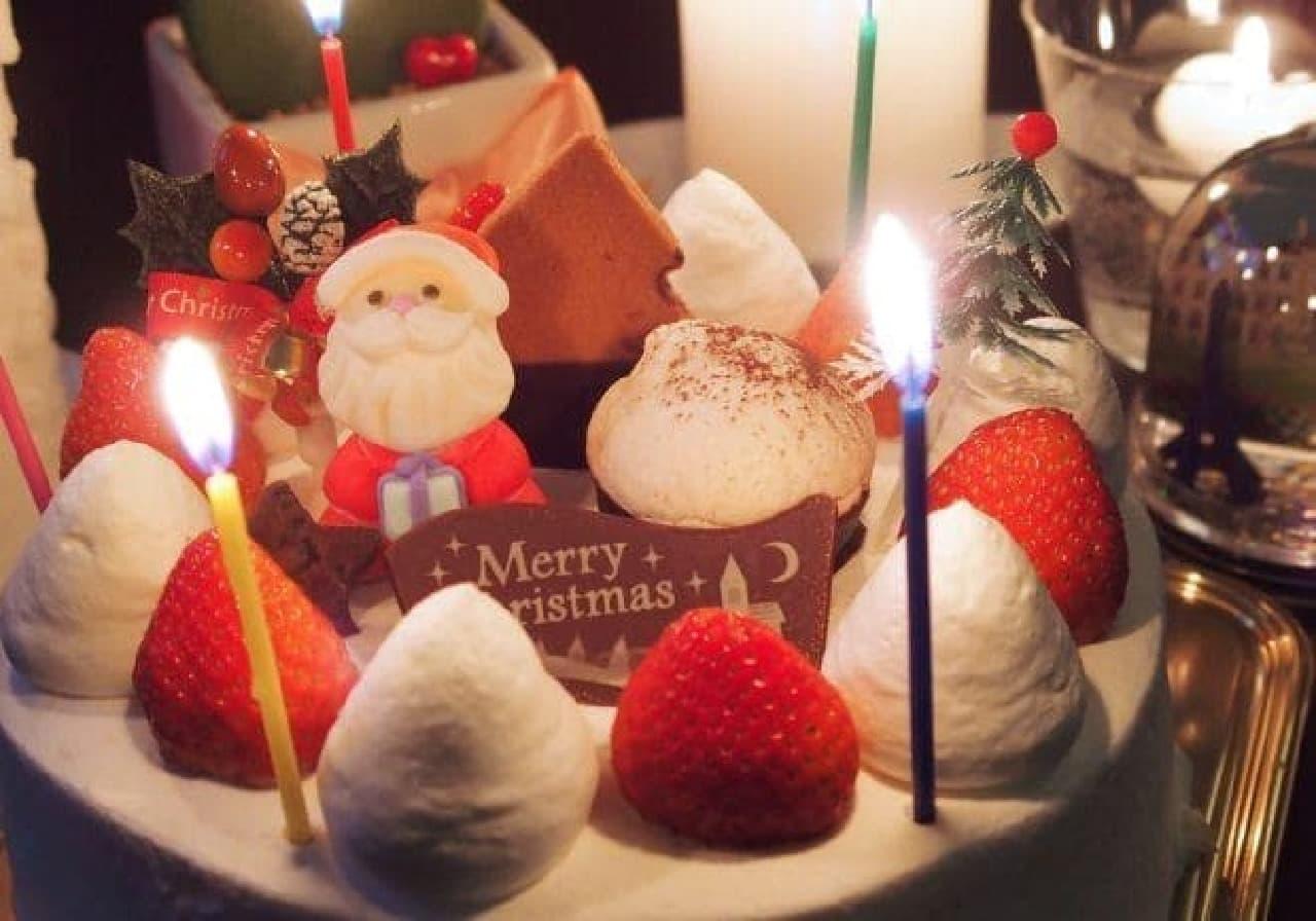 何度でも、何個でも食べたいクリスマスケーキ