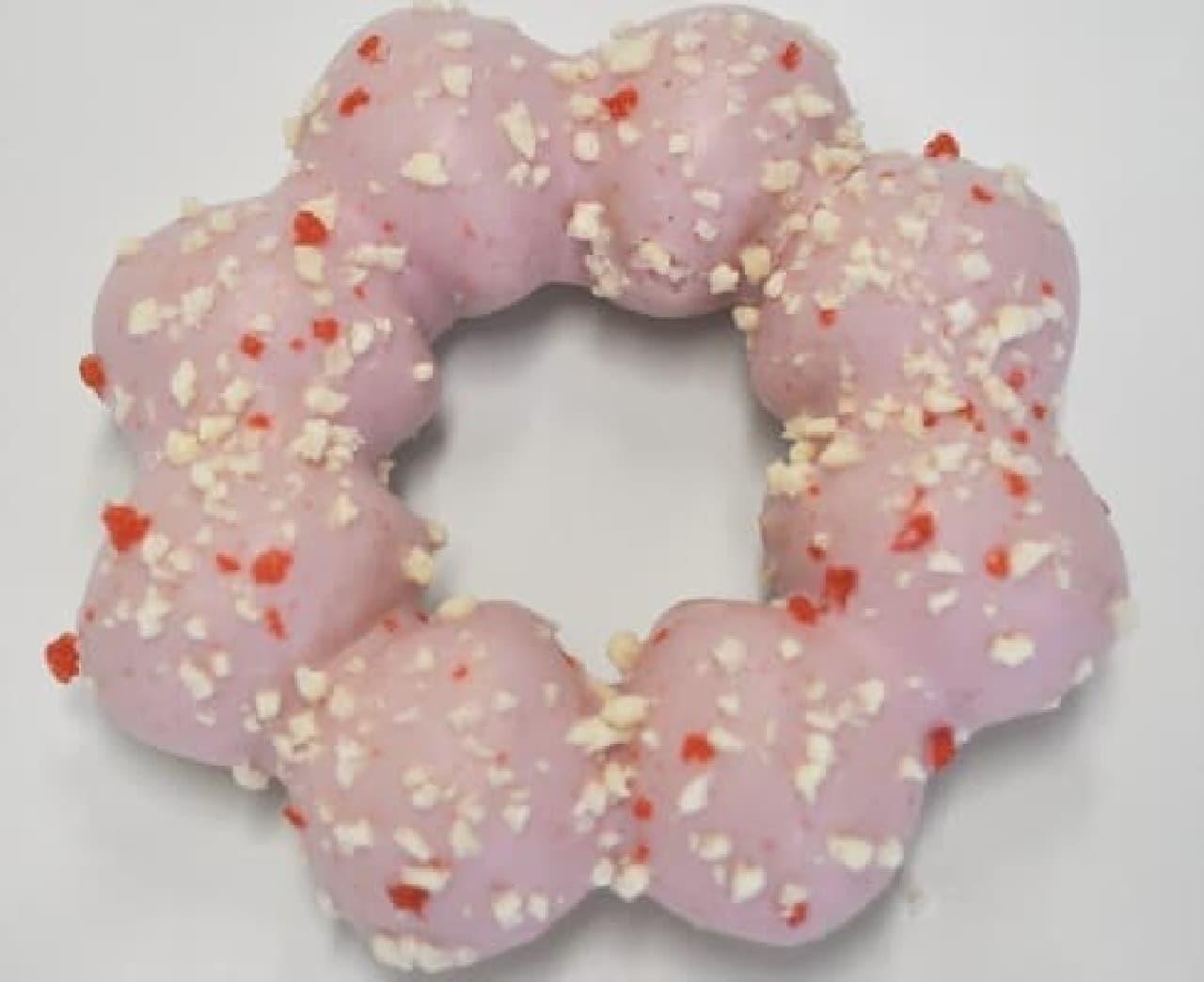 モッチリングドーナツ(いちご味)