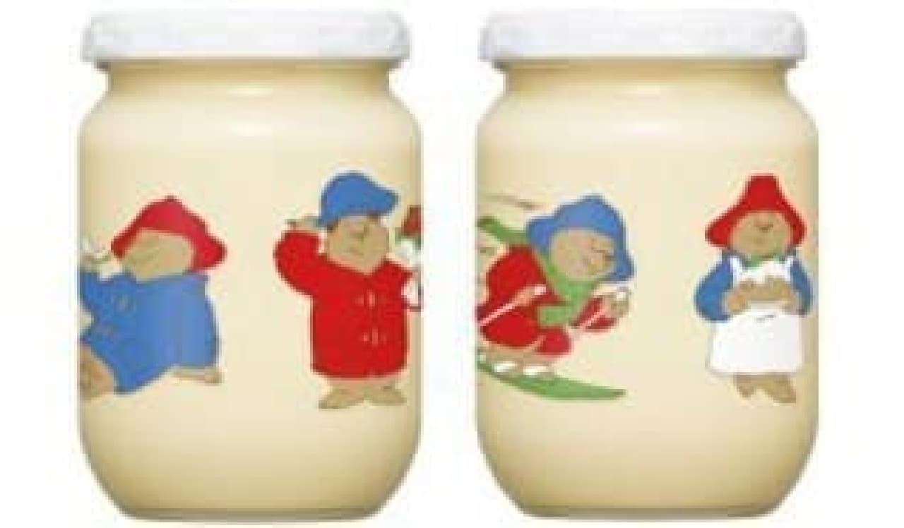 「パディントン ベア」デザインのマヨネーズ瓶!