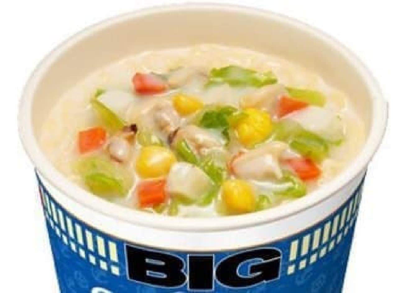 アサリの旨みが効いたスープ