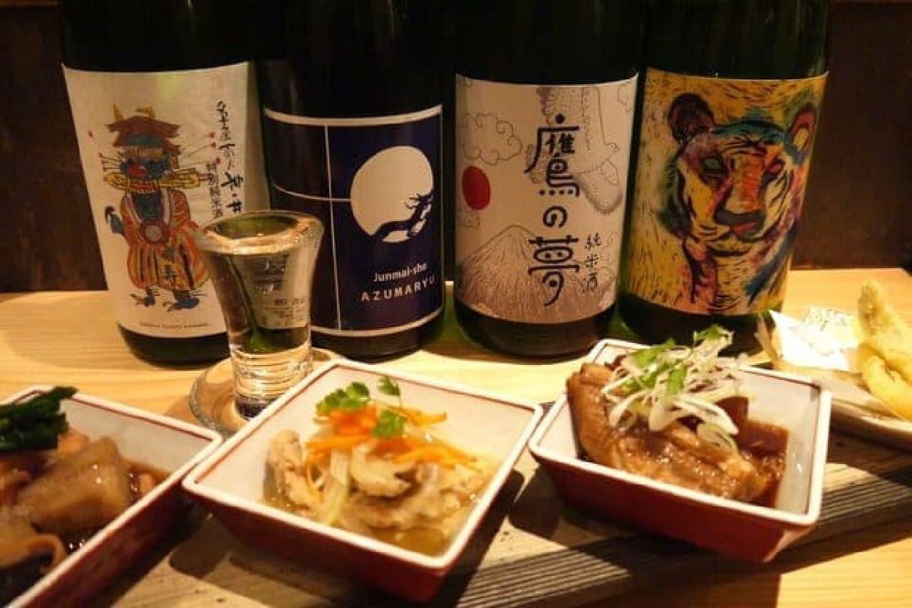日本酒好きにはぜひ訪れてほしい「ぽろ ホームメイドキッチン」