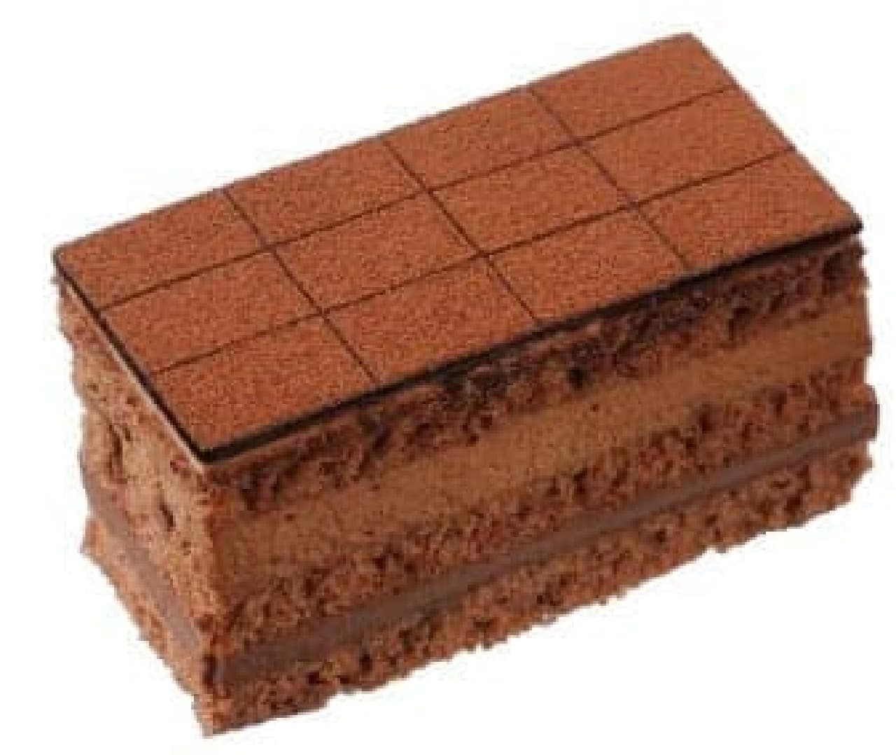 「銀座のレンガ 生チョコケーキ」