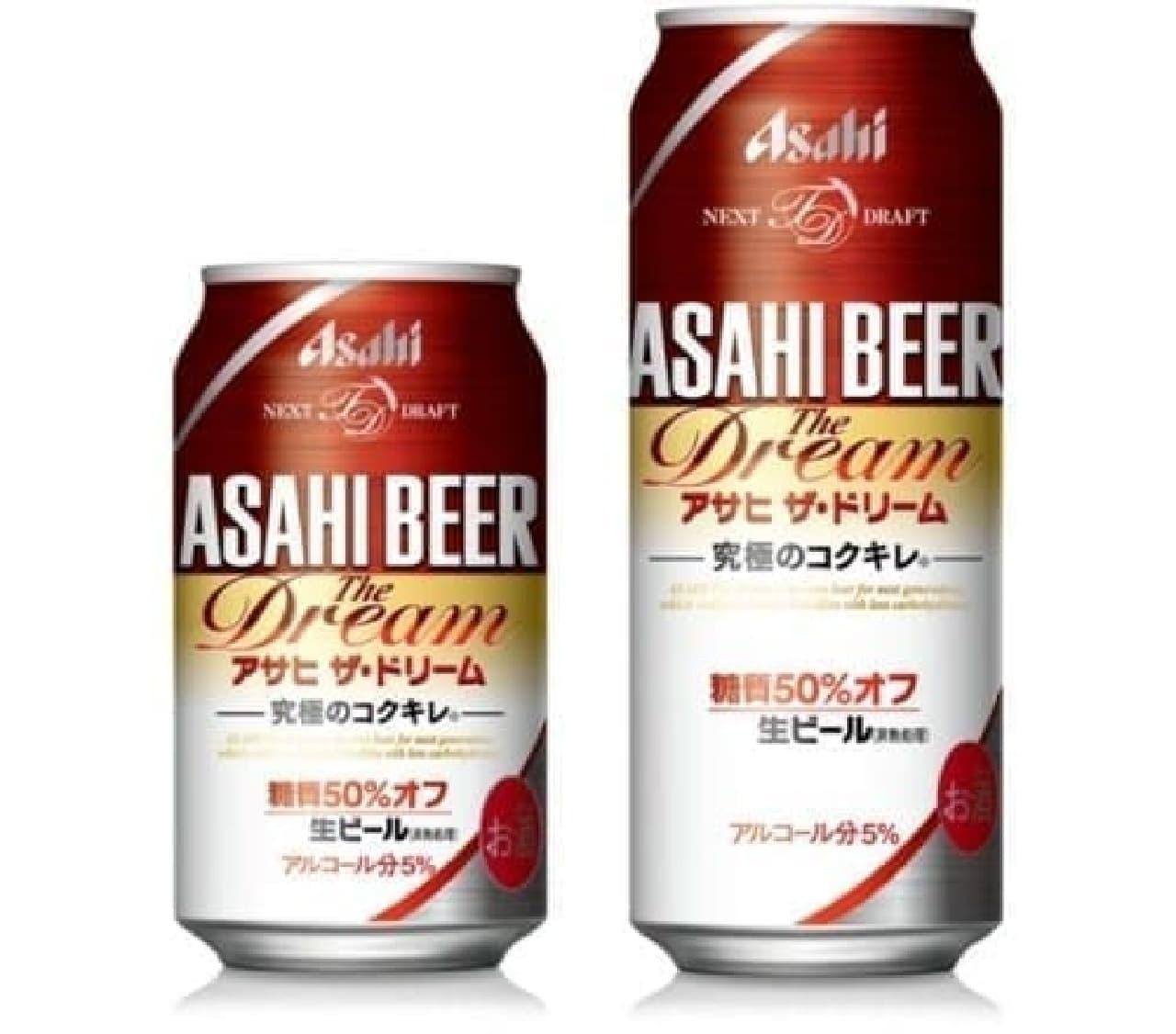 糖質50%オフの新ビールが登場